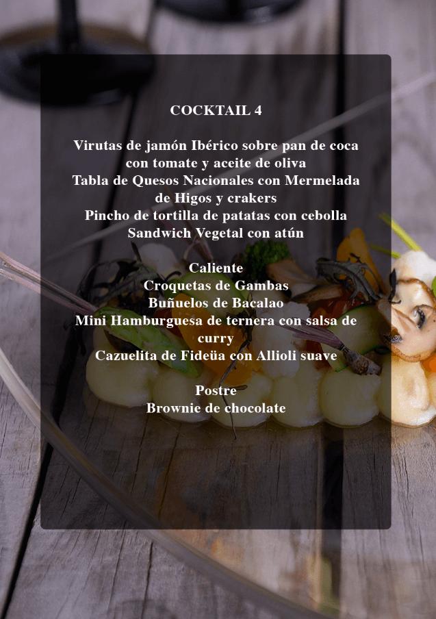 Menu cocktail 4